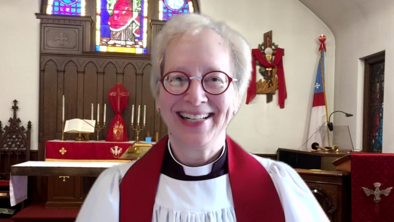 Rev. Pamela Conrad is rector of an Episcopal church in Maryland and a NASA scientist focused on Mars. (Courtesy of Pamela Gales Conrad)