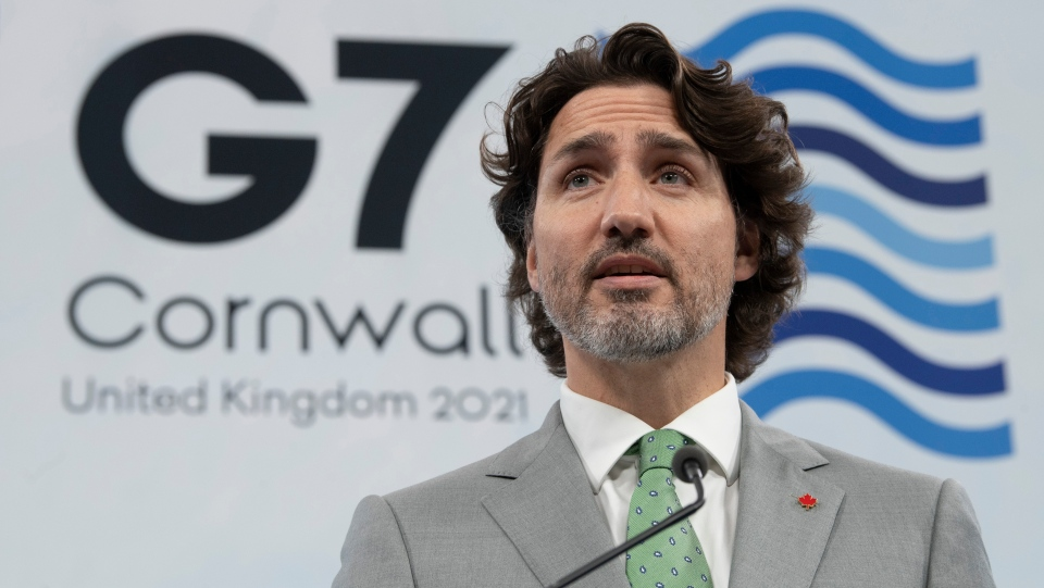 Trudeau at G7