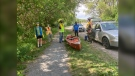 Junction Creek Stewardship Committee is running a free youth program called Empowering Youth for Junction Creek for teens ages 13-18 this summer. June 13/21 (Alana Everson/CTV News Northern Ontario)