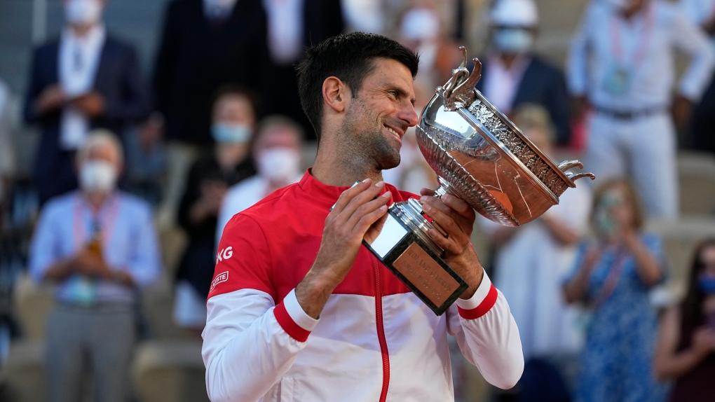 Djokovic wins French Open