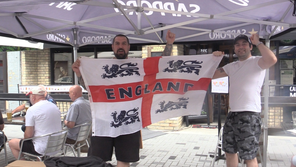 England Supporters