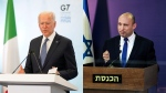 U.S. President Joe Biden said the United States remained committed to Israel's security and would work with incoming Israeli Prime Minister Naftali Bennett. (AP photo)