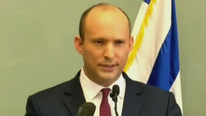 Israel swears in new prime minister