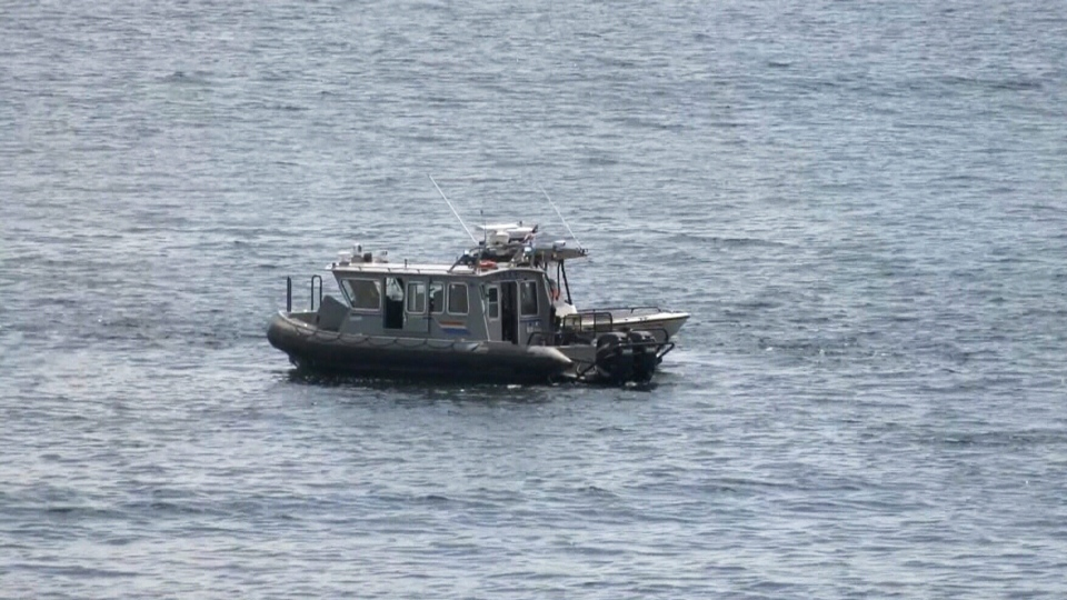 Water search underway for missing man