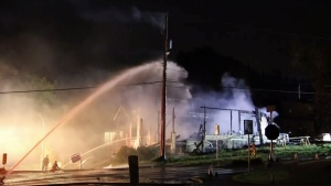 Homes destroyed in Port Moody fire