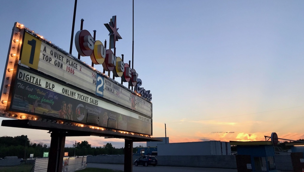 Sunset Barrie Drive-in Theatre