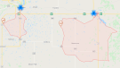 Approximately 1,630 Manitoba Hydro customers were without power Sunday, June 13, 2021. (Source: Manitoba Hydro)
