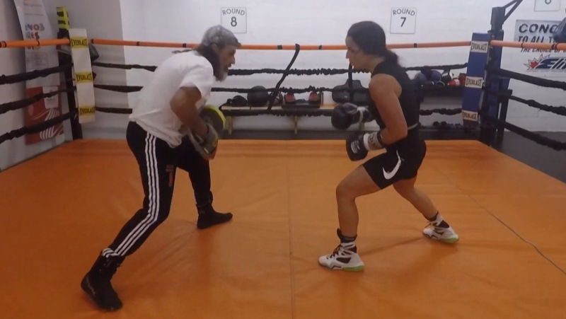Mikenna Tansley will be competing for a Canadian boxing title. (CTV News Edmonton)
