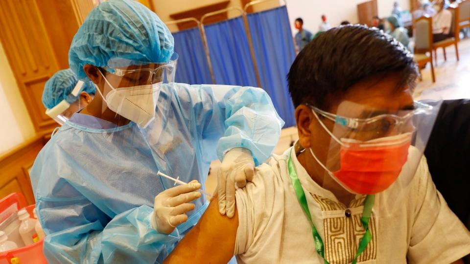 Myanmar vaccines