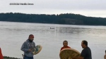 Whales appear during Indigenous ceremony for 215 c
