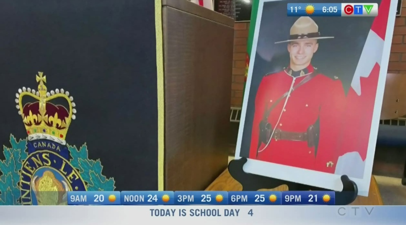 Mounty mourned, COVID update: Morning Live