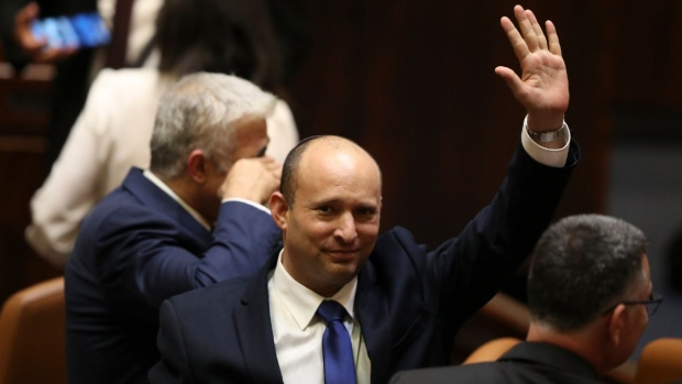 New Israeli coalition starts work; Benjamin Netanyahu vows to oust it