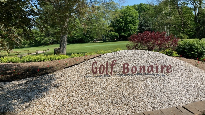Bonaire Golf Club in Coldwater is hosting the 22nd annual fundraiser and tournament for Green Haven Shelter for Women in July. (Chris Garry/CTV)