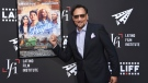 Jimmy Smits arrives at a screening of 'In the Heights' at TCL Chinese Theatre in Los Angeles, on June 4, 2021. (Richard Shotwell / Invision / AP)