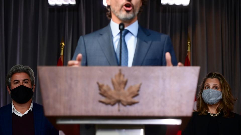 Rodriguez, Freeland, Trudeau