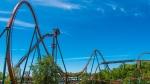 Canada's Wonderland's 'Yukon Striker' roller coaster is seen in this undated image. (Supplied)