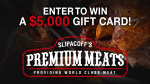 Win a gift card from Slipacoff's Premium Meats