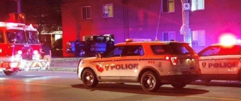 Impaired driver crashes into Mill St. apartment