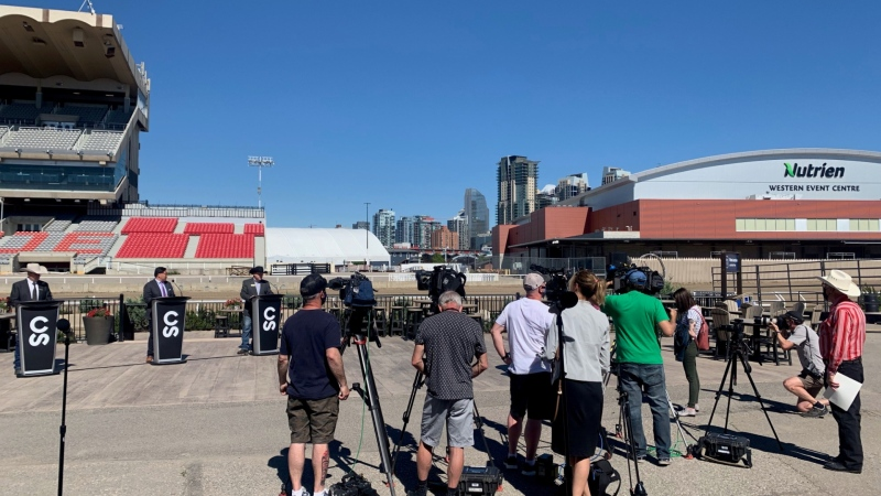 Calgary Stampede officials announced safety measures Monday that will be in place for this year's edition of the Greatest Outdoor Show in Earth.