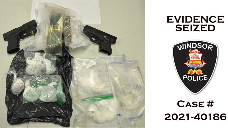 Evidence seized during Windsor police DIGS unit investigation. (Courtesy Windsor Police Service)