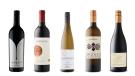 Imagery Estate Winery Cabernet Sauvignon 2017, Seven Hills Merlot 2017, Palatine Hills Estate Winery Riesling 2016, Esterházy Estoras Grüner Veltliner 2016, Erath Resplendent Pinot Noir 2015