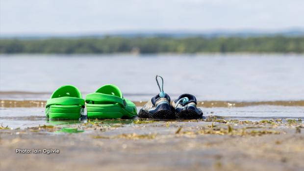My boys' water shoes at Britannia Beach. (Iain Ogilvie/CTV Viewer)
