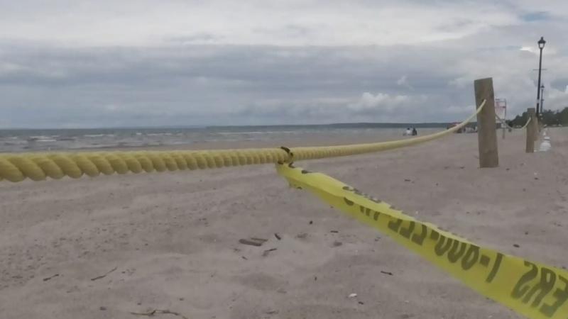Suspicious death at Wasaga Beach