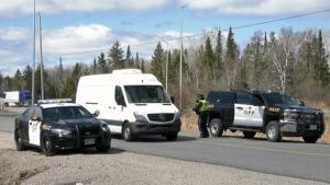Manitoba/Ontario border checkpoint