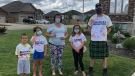 The Schmidt family was issued an $880 ticket for a gathering of more than 10 people, which Ben Snow has opted to pay for in Windsor, Ont. on Monday, June 14, 2021. (Angelo Aversa/CTV Windsor)