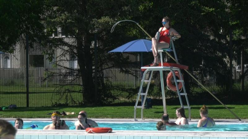 Maple Leaf Pool reopens
