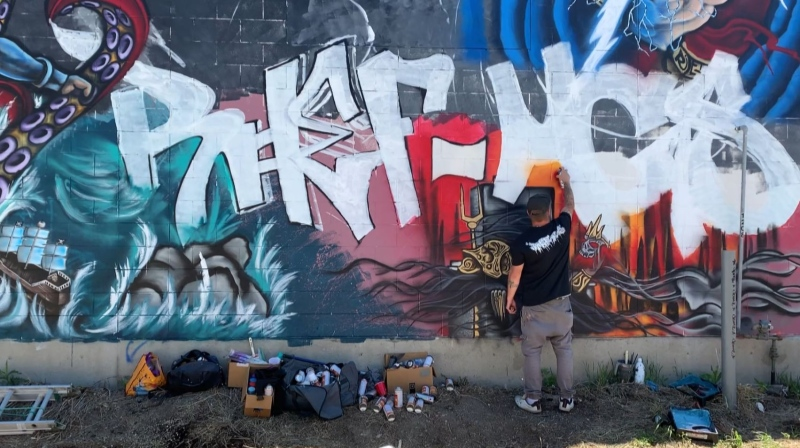 Special space for graffiti