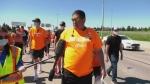 STC chief walks Circle Drive