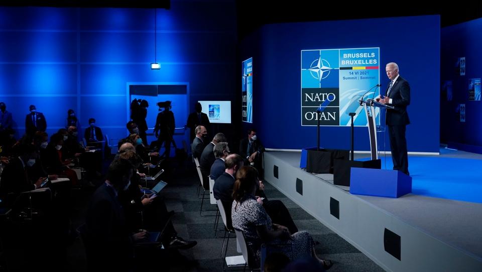 President Joe Biden NATO