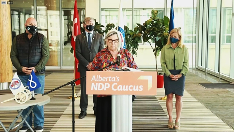 Audrey Poitras, the President of the Metis Nation of Alberta, said they're suing the province for failing to consult about energy projects