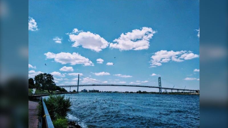 Detroit River (Courtesy: Lira Sykja Okaj)