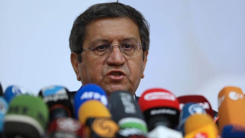 Former Iranian Central Bank chief Abdolnasser Hemmati in Tehran, Iran, on June 15, 2021. (Vahid Salemi / AP)