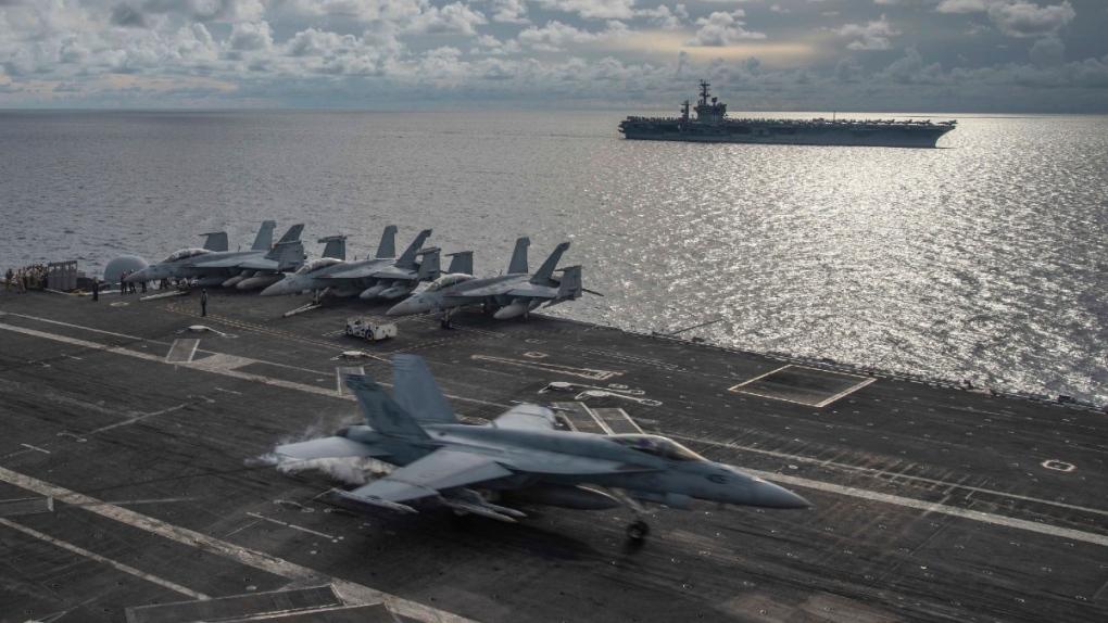 USS Ronald Reagan in 2020