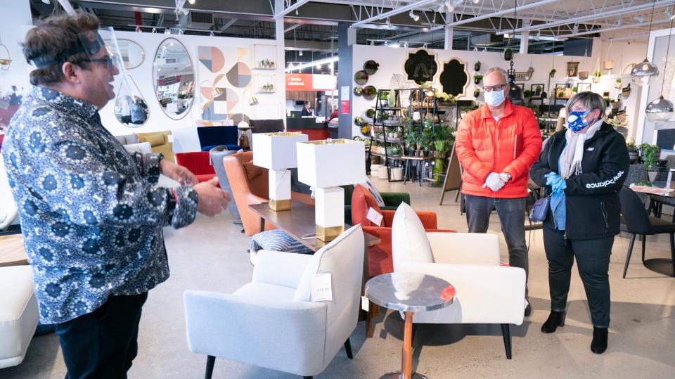 Furniture store in Quebec