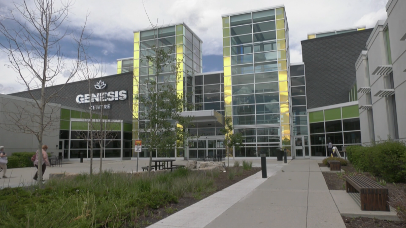 Walk-in first dose vaccines will be available at the Genesis Centre in northeast Calgary on Tuesday and Wednesday.