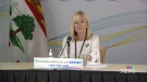 Dr. Heather Morrison, P.E.I.'s chief health officer, delivers a COVID-19 update on Tuesday, June 15, 2021.