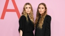Ashley and Mary-Kate Olsen, seen here in 2019, did an interview in honor of the 15th anniversary of their fashion line. (Dimitrios Kambouris/Getty Images/CNN)