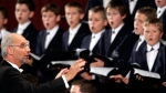 Regensburg Cathedral Choir performs at the Vatican, on Oct. 20, 2005. (Pier Paolo Cito / AP)