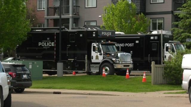 Violent dispute in South Edmonton.