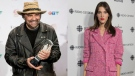 Illustrious U2 producer Daniel Lanois (left) and indie vocal powerhouse Charlotte Cardin (right) are among the names listed in the Polaris Music Prize long list. (THE CANADIAN PRESS)