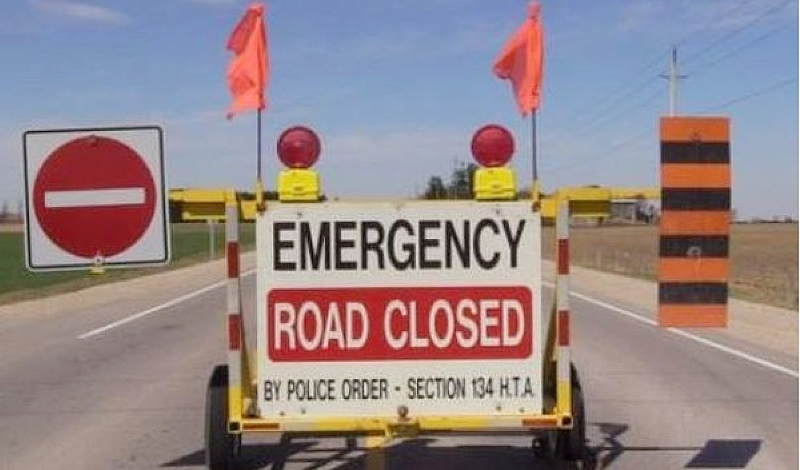 The Ontario Provincial Police said Tuesday afternoon that Highway 11 between Smooth Rock Falls and Cochrane is closed due to a motor vehicle collision. (Supplied)