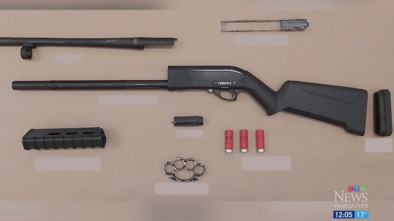 Man charged for having shotgun on SkyTrain