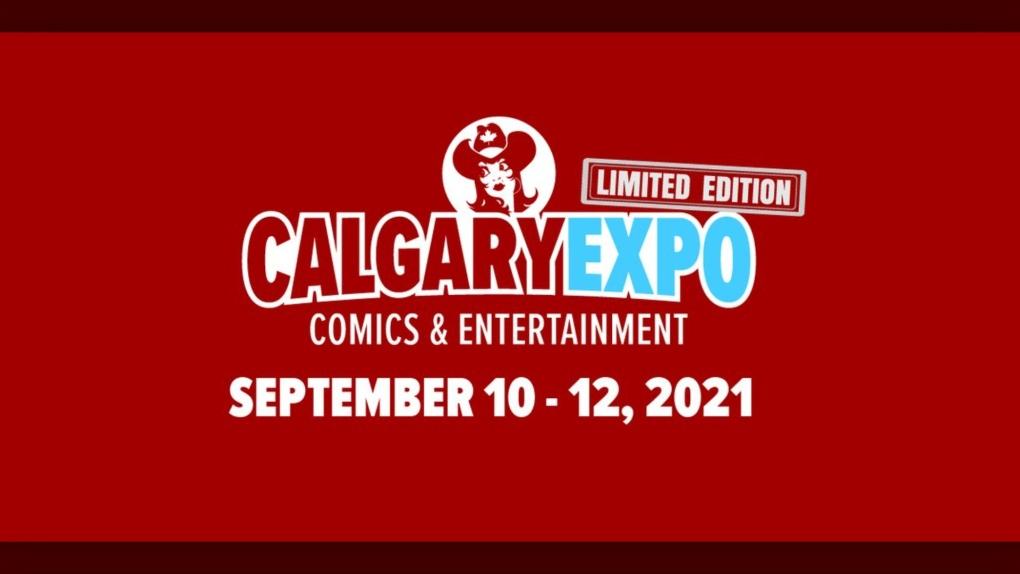 Calgary Expo, 2021, September, logo