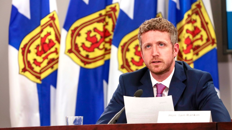 Premier Iain Rankin announced that Nova Scotia's borders will be opening to Atlantic Canadians on June 23, thanks to low case numbers and hospitalizations, along with an increase in vaccinations. (Photo courtesy: Communications Nova Scotia)