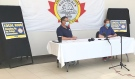 Late Monday evening the United Steelworkers Local 6500 in Sudbury voted on the second contract offer put forward by the company, rejecting it by a higher margin than the first. (Lyndsay Aelick/CTV News)