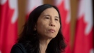 Chief Public Health Officer Theresa Tam listens to a question during a news conference, Tuesday, January 12, 2021 in Ottawa. THE CANADIAN PRESS/Adrian Wyld